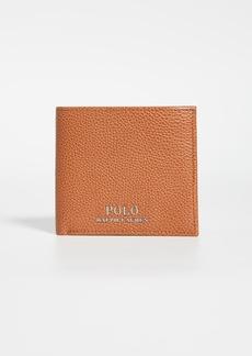 Ralph Lauren Polo Polo Ralph Lauren Tailored Pebble Leather Bifold Wallet