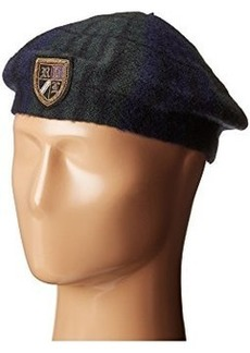 Ralph Lauren: Polo Polo Ralph Lauren Tartan Beret with Embroidery