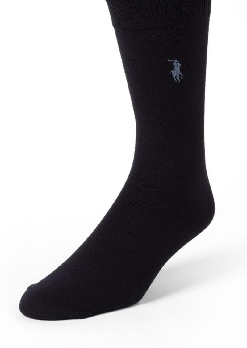 Ralph Lauren Polo Polo Ralph Lauren 3-Pair Mid-Calf Socks