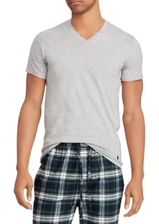 Ralph Lauren Polo Polo Ralph Lauren 3-Pack Slim-Fit V-Neck Cotton Tees