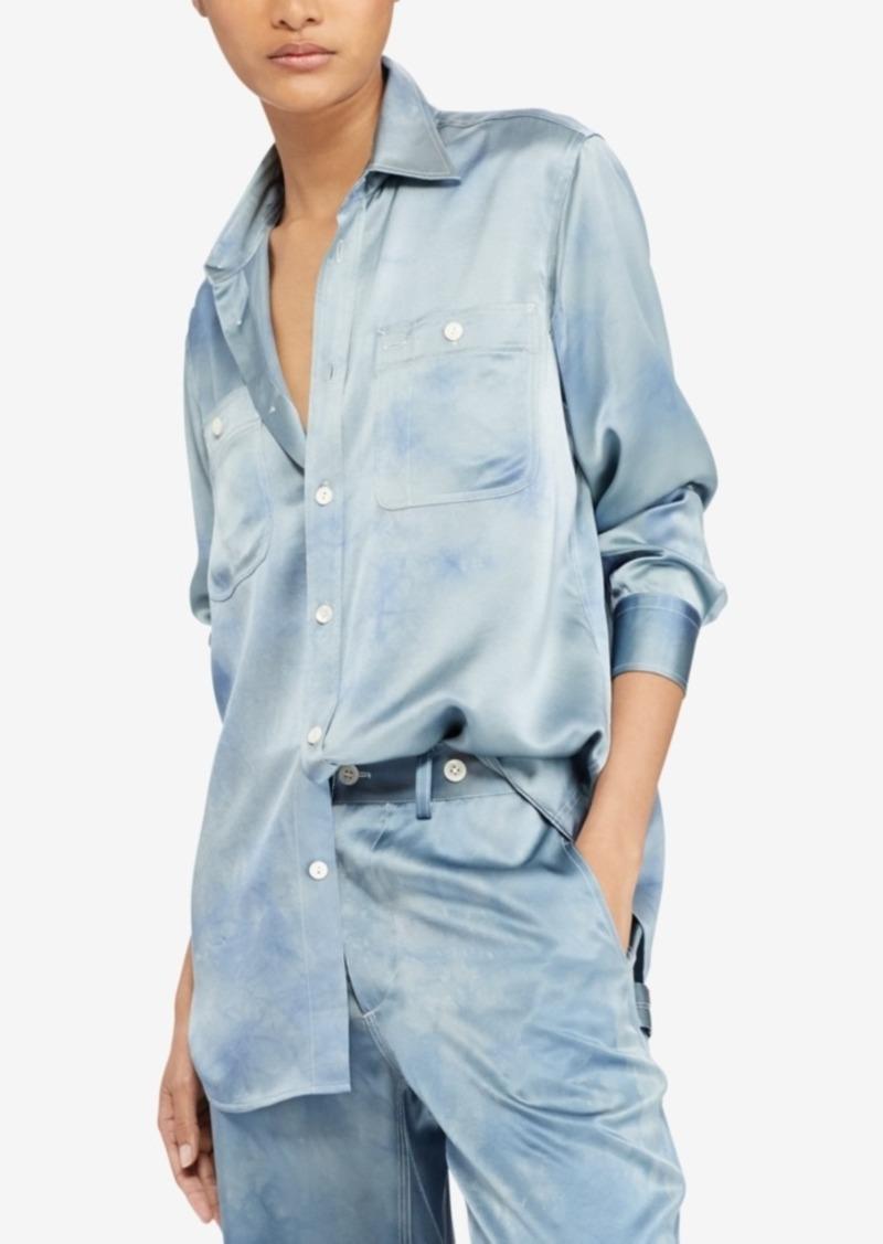 Ralph Lauren: Polo Polo Ralph Lauren Tie-Dye Silk Shirt