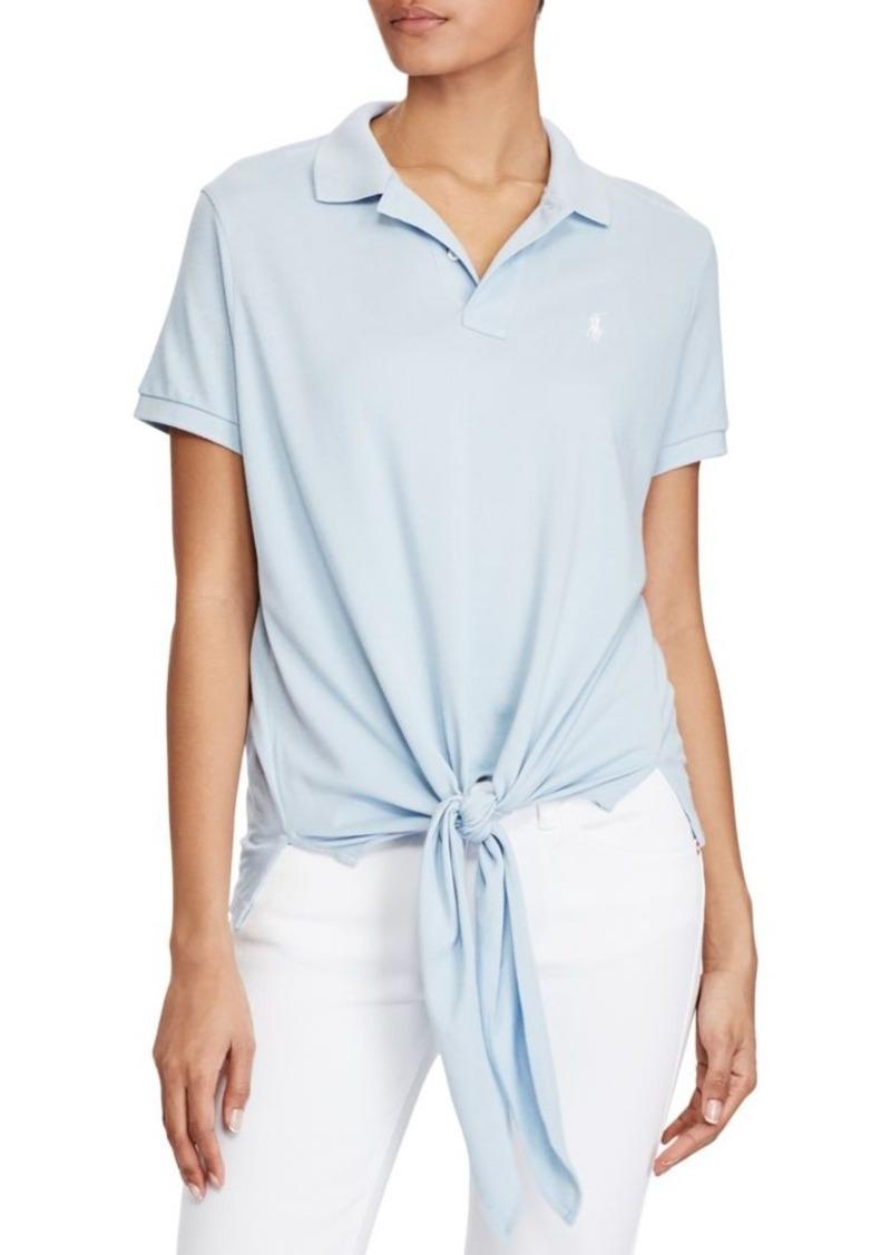 052f56bbef5 On Sale today! Ralph Lauren: Polo Polo Ralph Lauren Tie-Front Mesh ...