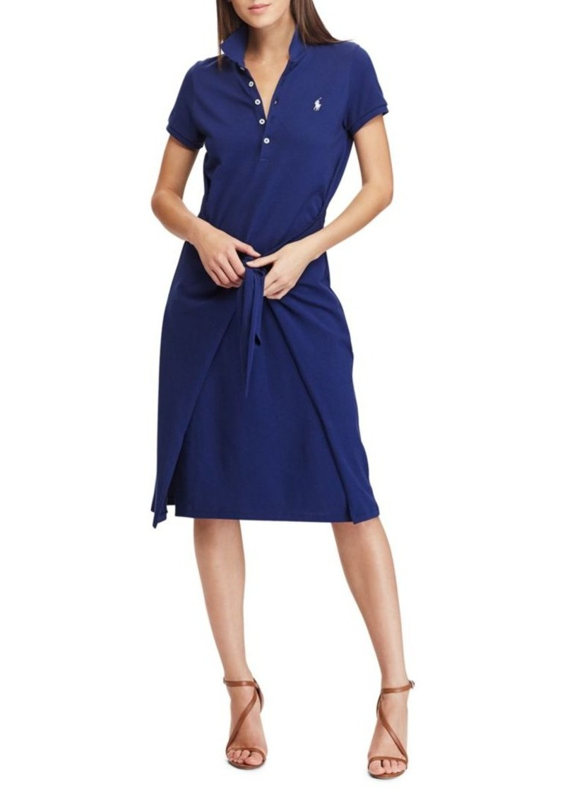 Ralph Lauren Polo Polo Ralph Lauren Tie Front Polo Dress