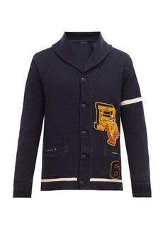 Ralph Lauren Polo Polo Ralph Lauren Tiger-appliqué cotton cardigan