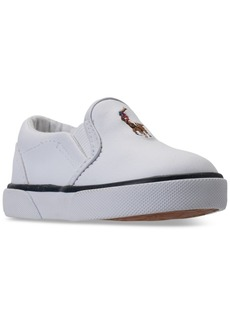 Ralph Lauren: Polo Polo Ralph Lauren Toddler Boys' Bal Harbour Ii Casual Sneakers from Finish Line