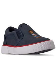 Ralph Lauren: Polo Polo Ralph Lauren Toddler Boys Bal Harbour Ii Slip-On Casual Sneakers from Finish Line