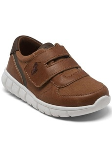 Ralph Lauren: Polo Polo Ralph Lauren Toddler Boys Barnes Ez Stay-Put Closure Casual Sneakers from Finish Line