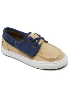 Ralph Lauren: Polo Polo Ralph Lauren Toddler Boys' Bridgeport Slip-On Casual Boat Sneakers from Finish Line