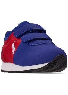 Ralph Lauren: Polo Polo Ralph Lauren Toddler Boys' Brightwood Ez Casual Sneakers from Finish Line