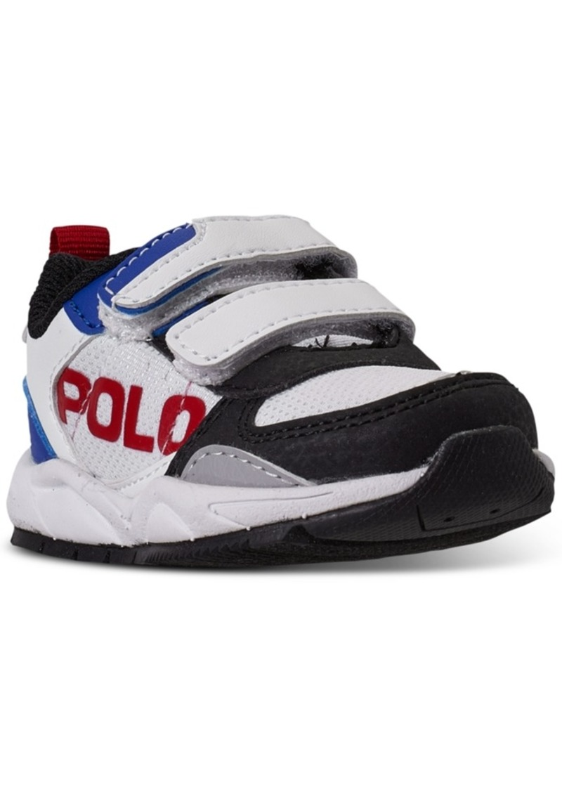 Ralph Lauren: Polo Polo Ralph Lauren Toddler Boys Chaning Ez Stay-Put Closure Casual Sneakers from Finish Line