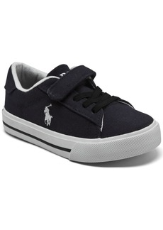 Ralph Lauren: Polo Polo Ralph Lauren Toddler Boys Easten 2 Stay-Put Casual Sneakers from Finish Line