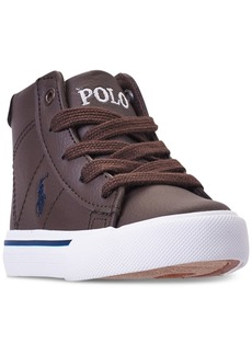 Ralph Lauren: Polo Polo Ralph Lauren Toddler Boys' Easten Mid Casual Sneakers from Finish Line