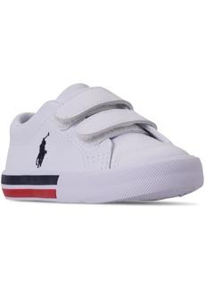 Ralph Lauren: Polo Polo Ralph Lauren Toddler Boys' Edmund Ez Casual Sneakers from Finish Line