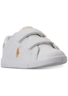 Ralph Lauren: Polo Polo Ralph Lauren Toddler Boys' Finney Ez Casual Sneakers from Finish Line
