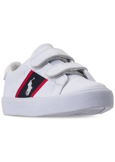 Ralph Lauren: Polo Polo Ralph Lauren Toddler Boys' Geoff Ez Casual Sneakers from Finish Line