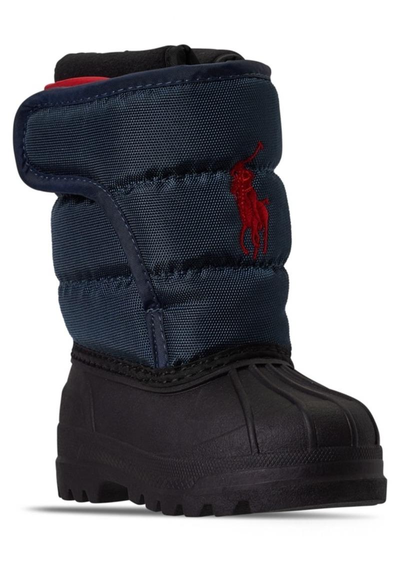 Ralph Lauren: Polo Polo Ralph Lauren Toddler Boys Hamilten Ii Ez Boots from Finish Line
