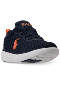 Ralph Lauren: Polo Polo Ralph Lauren Toddler Boys' Kamran Casual Athletic Sneakers from Finish Line