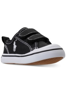 Ralph Lauren: Polo Polo Ralph Lauren Toddler Boys' Karlen Ez Casual Sneakers from Finish Line