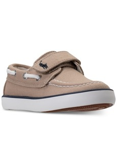 Ralph Lauren: Polo Polo Ralph Lauren Toddler Boys' Sander Ez Casual Sneakers from Finish Line