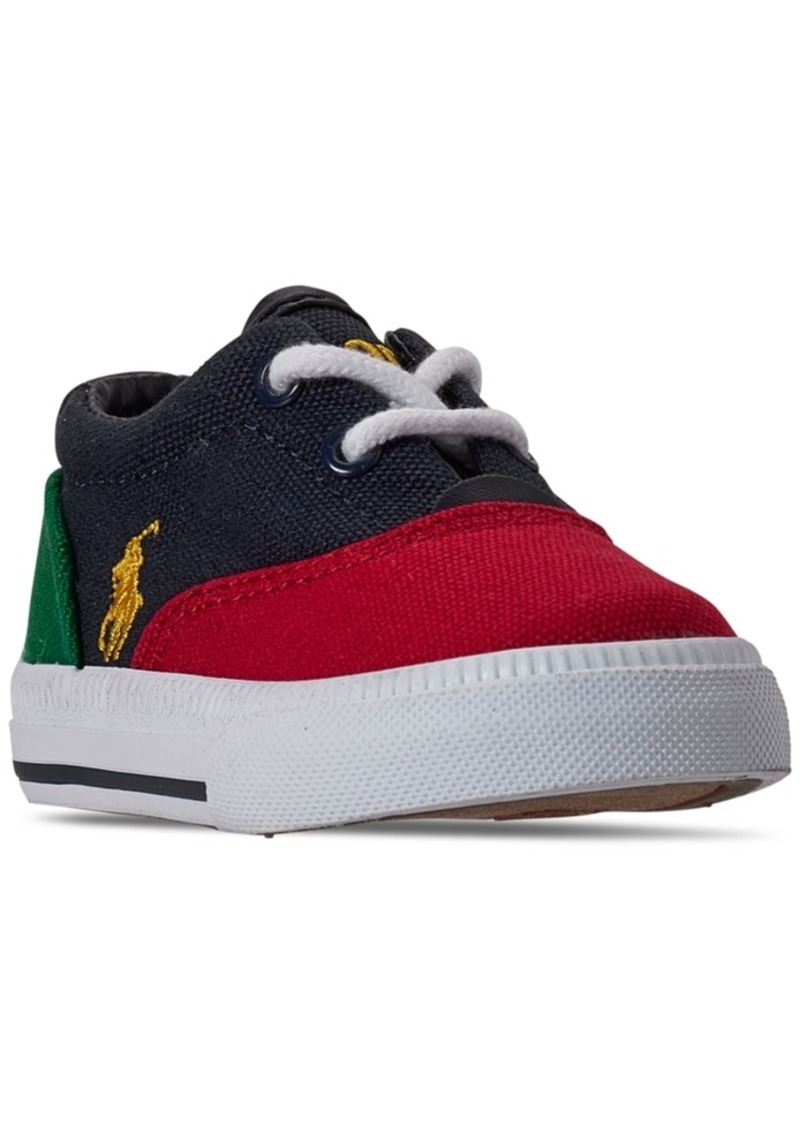 Ralph Lauren: Polo Polo Ralph Lauren Toddler Boys Vaughn Ii Casual Sneakers from Finish Line