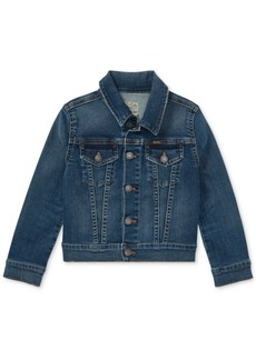 Ralph Lauren: Polo Polo Ralph Lauren Toddler Girls Denim Trucker Jacket