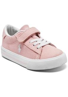 Ralph Lauren: Polo Polo Ralph Lauren Toddler Girls Easten 2 Casual Sneakers from Finish Line