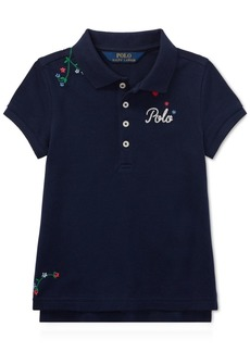 Ralph Lauren: Polo Polo Ralph Lauren Little Girls Embroidered Polo