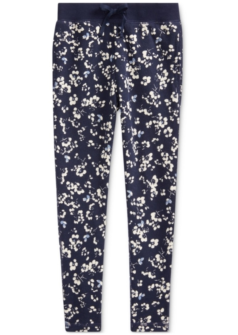 Ralph Lauren: Polo Polo Ralph Lauren Toddler Girls Floral Cotton French Terry Pants