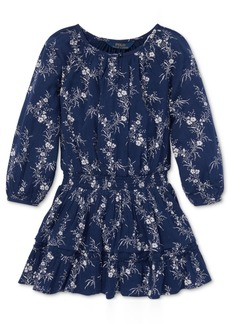Ralph Lauren: Polo Polo Ralph Lauren Little Girls Floral-Print Gauze Boho Dress