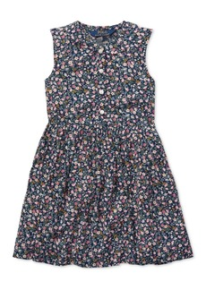 Ralph Lauren: Polo Polo Ralph Lauren Toddler Girls Floral Shift Dress