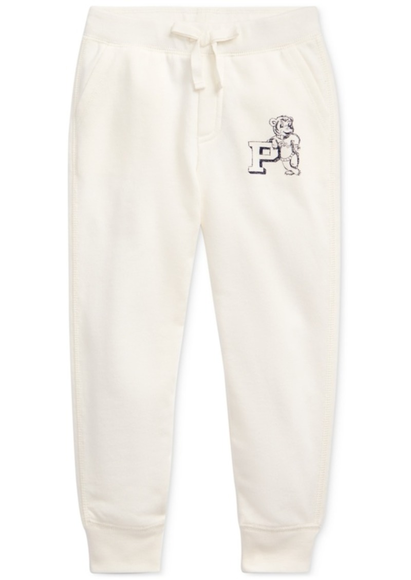 Ralph Lauren: Polo Polo Ralph Lauren Toddler Girls French Terry Graphic Joggers