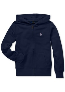 Ralph Lauren: Polo Polo Ralph Lauren Toddler Girls French Terry Hoodie