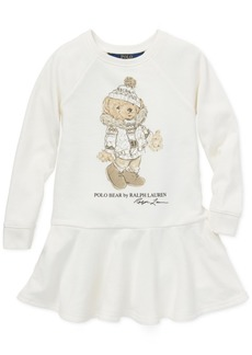 Ralph Lauren: Polo Polo Ralph Lauren Little Girls Holiday Bear Dress
