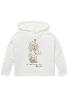 Ralph Lauren: Polo Polo Ralph Lauren Toddler Girls Holiday Bear Hoodie