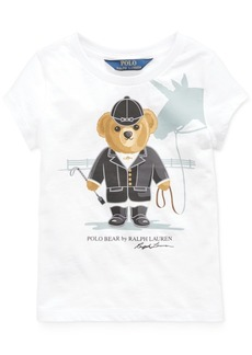 Ralph Lauren: Polo Polo Ralph Lauren Toddler Girls Jersey Cotton T-Shirt