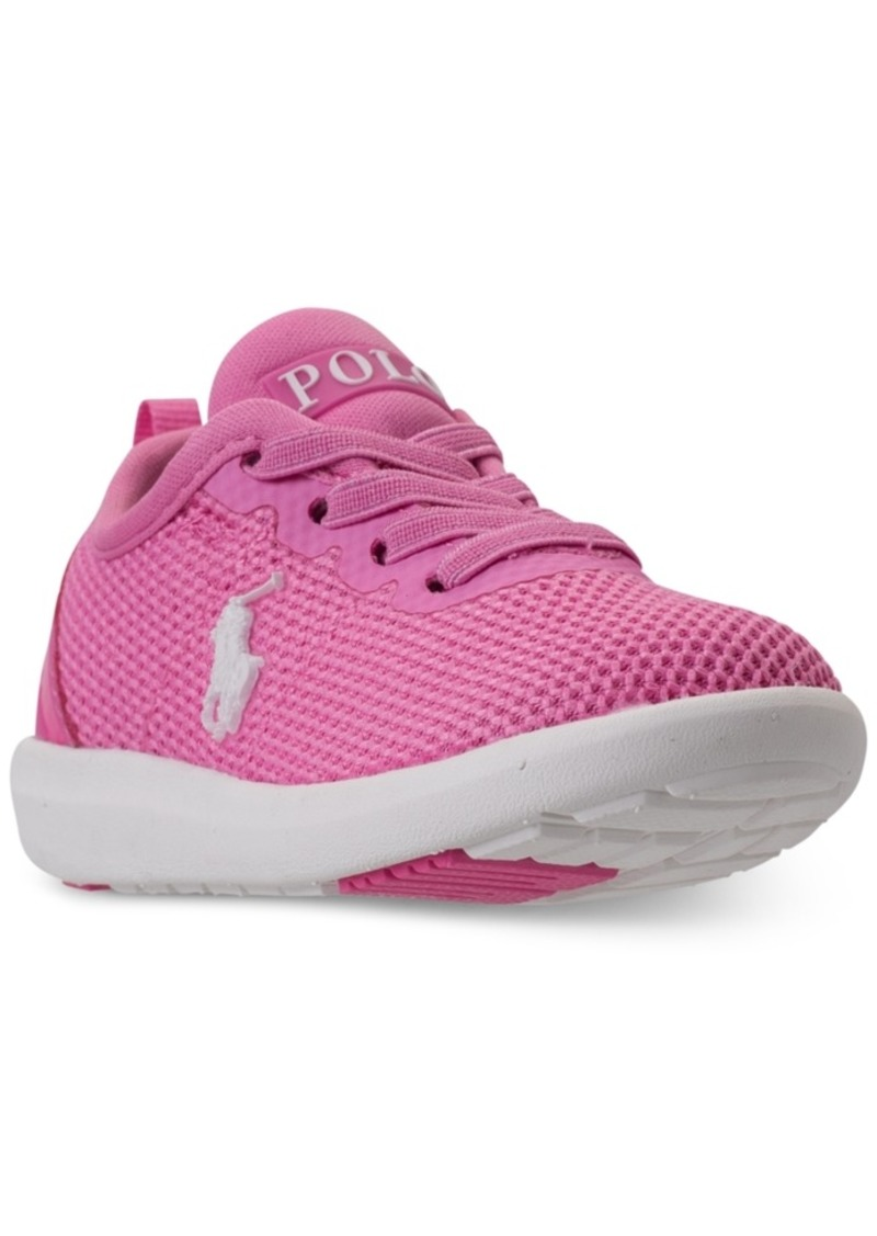 af550afdf Polo Ralph Lauren Toddler Girls  Kamran Casual Athletic Sneakers from  Finish Line