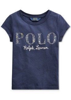 Ralph Lauren: Polo Polo Ralph Lauren Toddler Girls Logo T-Shirt