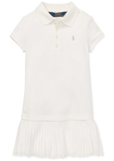 Ralph Lauren: Polo Polo Ralph Lauren Little Girls Pleated Polo Dress