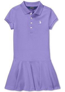 Ralph Lauren: Polo Polo Ralph Lauren Toddler Girls Polo Dress