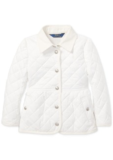Ralph Lauren: Polo Polo Ralph Lauren Toddler Girls Quilted Barn Jacket
