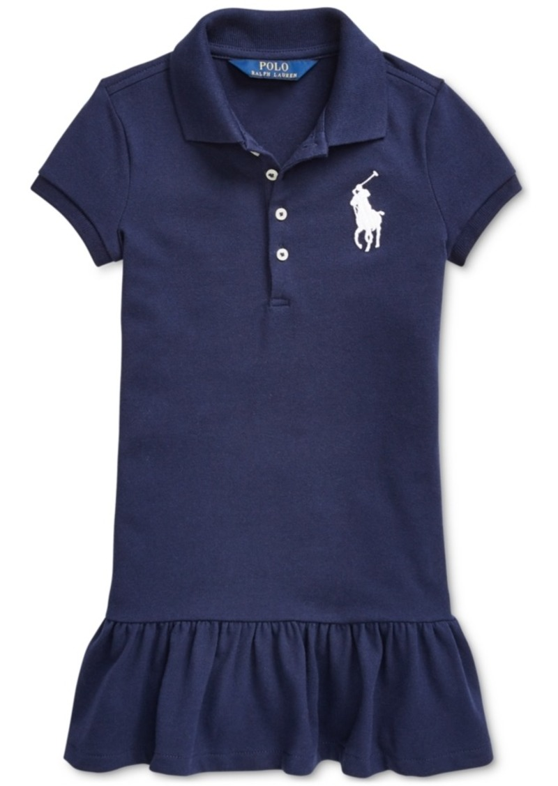 2f186c4504db5 Ralph Lauren: Polo Polo Ralph Lauren Toddler Girls Short-Sleeve Big Pony  Dress
