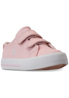 Ralph Lauren: Polo Polo Ralph Lauren Toddler Girls' Slater Ez Casual Sneakers from Finish Line