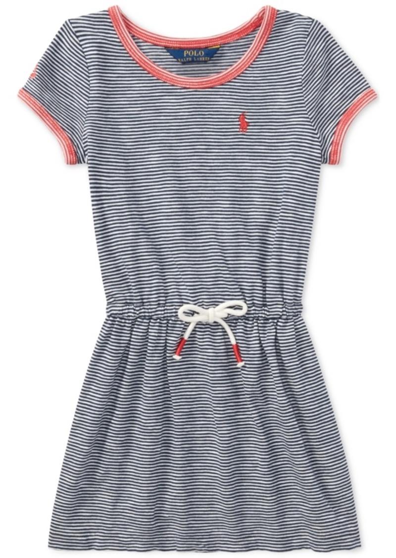 14e5e46c2d674 Ralph Lauren: Polo Polo Ralph Lauren Toddler Girls Striped Cotton ...