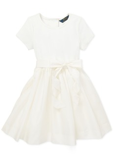Ralph Lauren: Polo Polo Ralph Lauren Toddler Girls Woven Fit & Flare Dress