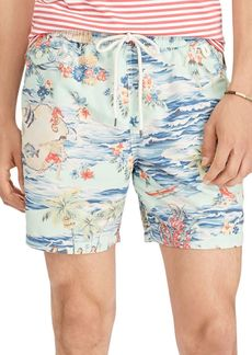 Ralph Lauren Polo Polo Ralph Lauren Traveler Luau Swim Trunks