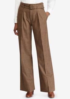 Ralph Lauren: Polo Polo Ralph Lauren Tweed Wide-Leg Pants