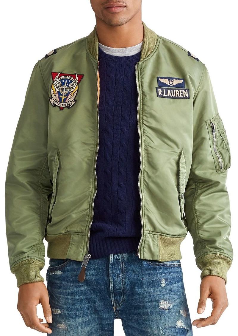 Ralph Lauren Polo Polo Ralph Lauren Twill Bomber Jacket