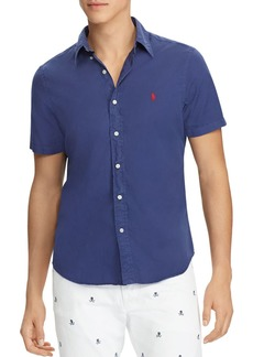 Ralph Lauren Polo Polo Ralph Lauren Twill Slim Fit Button-Down Shirt