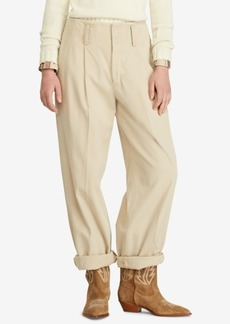 Ralph Lauren: Polo Polo Ralph Lauren Twill Straight Cotton Pants