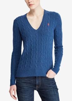 Ralph Lauren: Polo Polo Ralph Lauren V-Neck Wool-Cashmere Blend Sweater